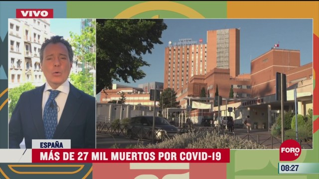 mas de 27 mil muertos por covid 19 en espana