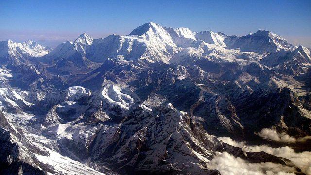 Monte Everest Imagen Katmandú Asia COVID