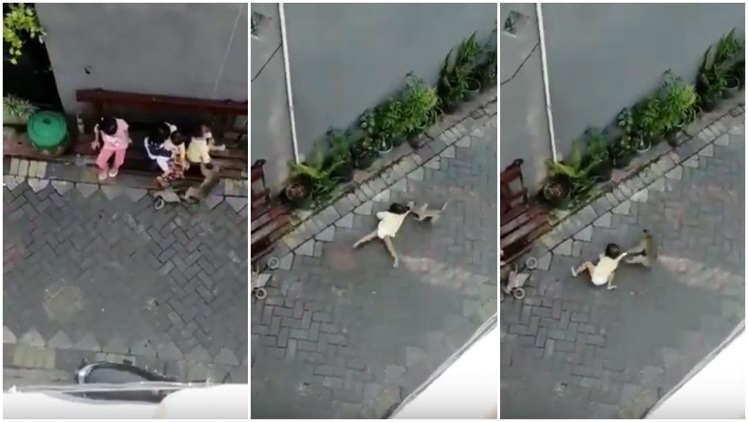 Video-viral-mono-secuestrador-nina-arrastrada-Indonesia
