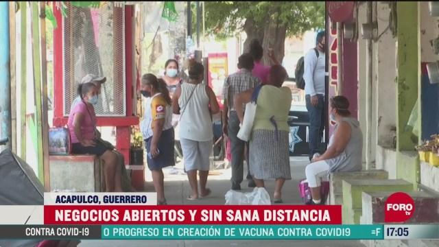 FOTO: muchas personas no creen en el coronavirus en acapulco