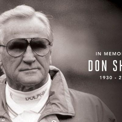 FOTO: Muere 'Don' Shula, la leyenda viviente del futbol americano, el 4 de mayo de 2020