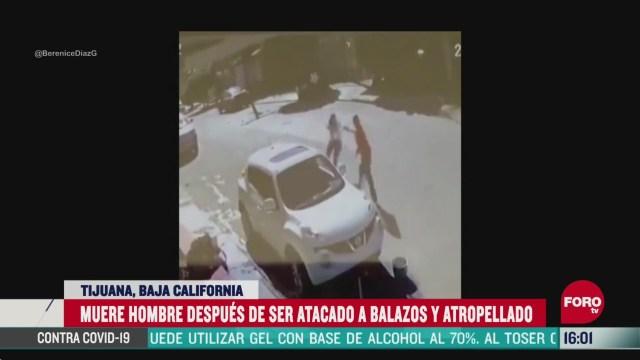 FOTO: muere hombre tras ser atacado y atropellado en tijuana