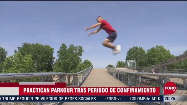 parkour regresa a francia tras periodo de confinamiento