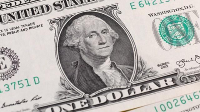 Billete de un dólar. Getty Images/Archivo