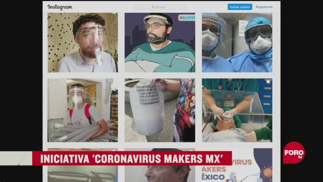 FOTO: 17 de mayo 2020,proyecto coronavirus makers mx