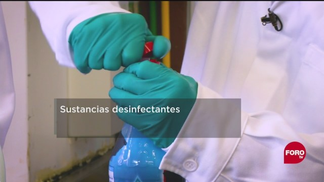 FOTO: 30 de mayo 2020, que sustancias desactivan el coronavirus