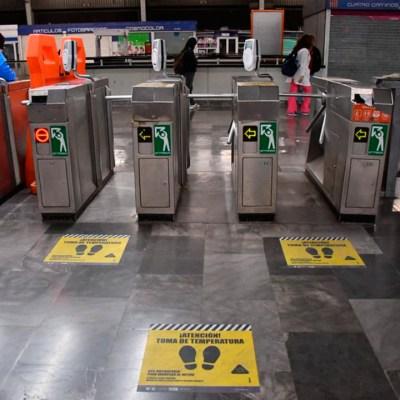 ¿Cuáles son las recomendaciones para viajar en metro y evitar el contagio de COVID-19?
