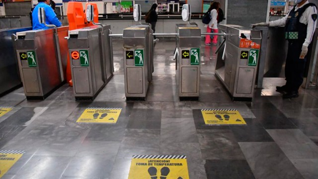 Recomendaciones Viajar Metro CDMX Coronavirus Contagio Foto Mayo 2020