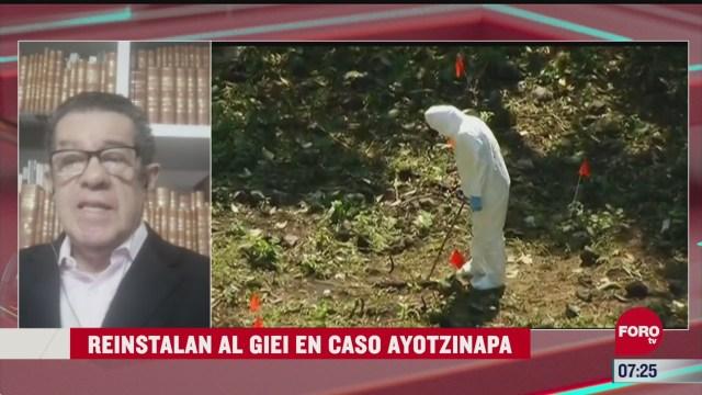 reinstalan al giei el caso ayotzianapa