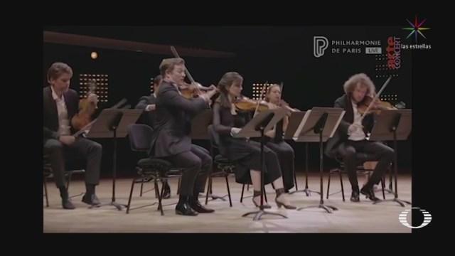 renaud capucon ofrece concierto en la filarmonica de paris vacia por la pandemia