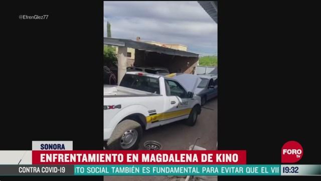 Foto: Video balacera magdalena de kino sonora 14 Mayo 2020