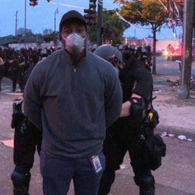 Foto: Reporteros de CNN son detenidos mientras cubrían las protestas en Minneapolis