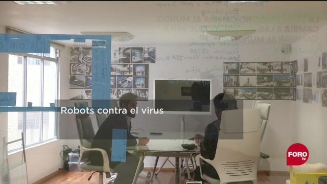 FOTO: 23 de mayo 2020, robots para combatir al coronavirus