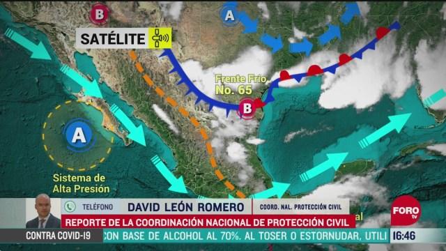 FOTO: se esperan hasta 37 fenomenos meteorologicos durante este 2020 en mexico
