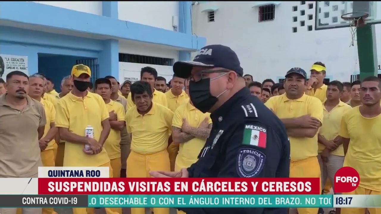 FOTO: 9 de mayo 2020, siguen suspendidas visitas a carceles de quintana roo