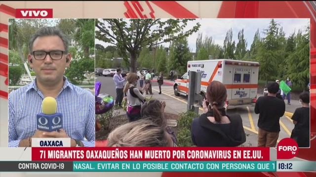 FOTO: suman 71 migrantes oaxaquenos muertos por coronavirus en eeuu