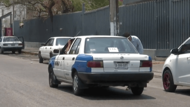 Taxistas de Acapulco, afectados por contagios de COVID-19