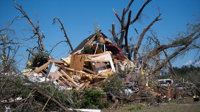 FOTO: Granizo y tornados causan daños en norte de Texas, el 23 de mayo de 2020