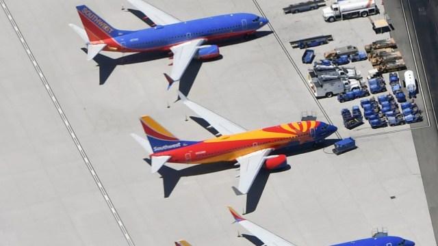 FOTO: La demanda en transporte aéreo caerá 95 %, más que tras 11-S, dice estudio, el 25 de mayo de 2020