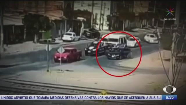 video capta ataque a policias de celaya guanajuato