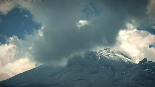 Popocatépetl registra 168 exhalaciones en las últimas horas