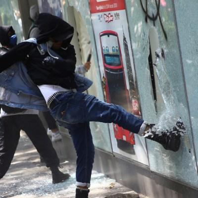 Fotos y videos: Protestas en CDMX por muertes de George Floyd y Giovanni López
