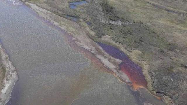 Foto: Desastroso derrame de combustible pone en estado de emergencia a Rusia, 4 de junio de 2020, (EFE)