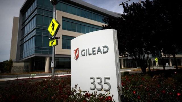 Edificio de la farmacéutica Gilead; agencia europea aprueba uso remdesivir coronavirus
