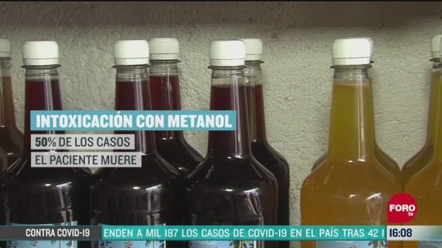 FOTO: alertan en todo mexico por consumo de alcohol adulterado