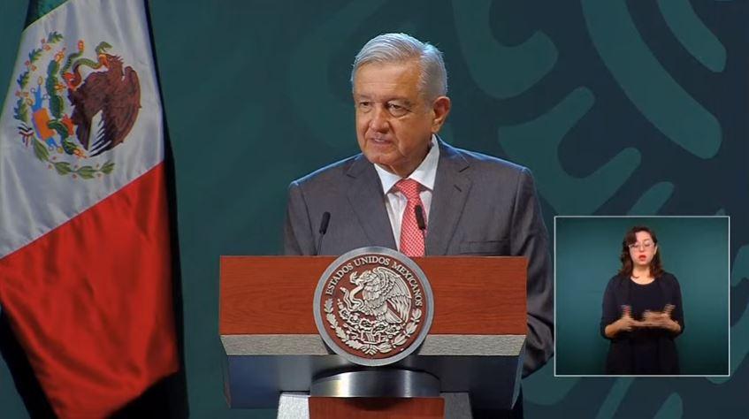El presidente de México, Andrés Manuel López Obrador, en conferencia de prensa.