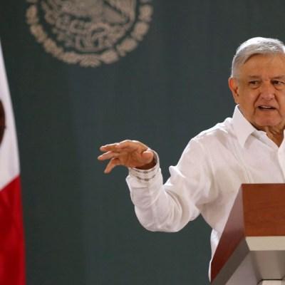 Conferencia del presidente Andrés Manuel López Obrador. (Foto: EFE)