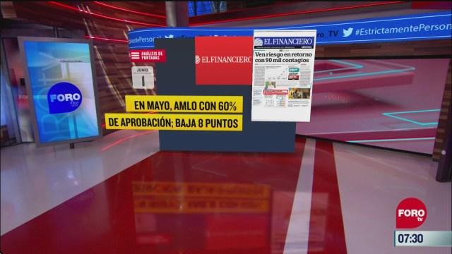 analisis de las portadas nacionales e internacionales del 1 de junio del