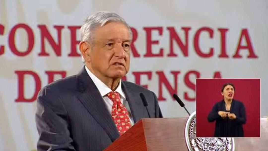 Andrés Manuel López Obrador en conferencia matutina; denunciará fraudes en contratos de energía