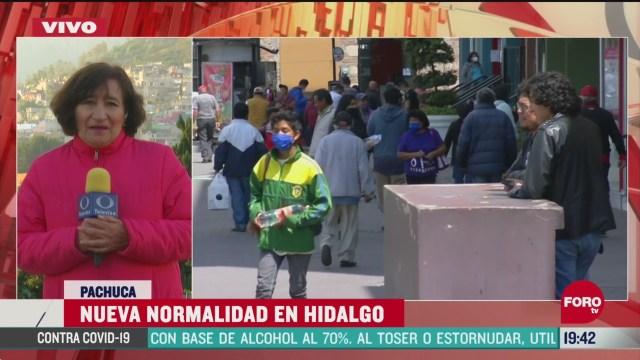 """Hidalgo y Oaxaca la """"nueva normalidad"""" por Covid-19"""