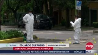 FOTO: 28 de junio 2020, atentado contra omar garcia harfuch secretario de seguridad ciudadana