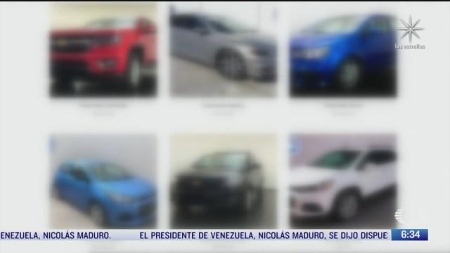 aumentan fraudes en venta de vehiculos por internet