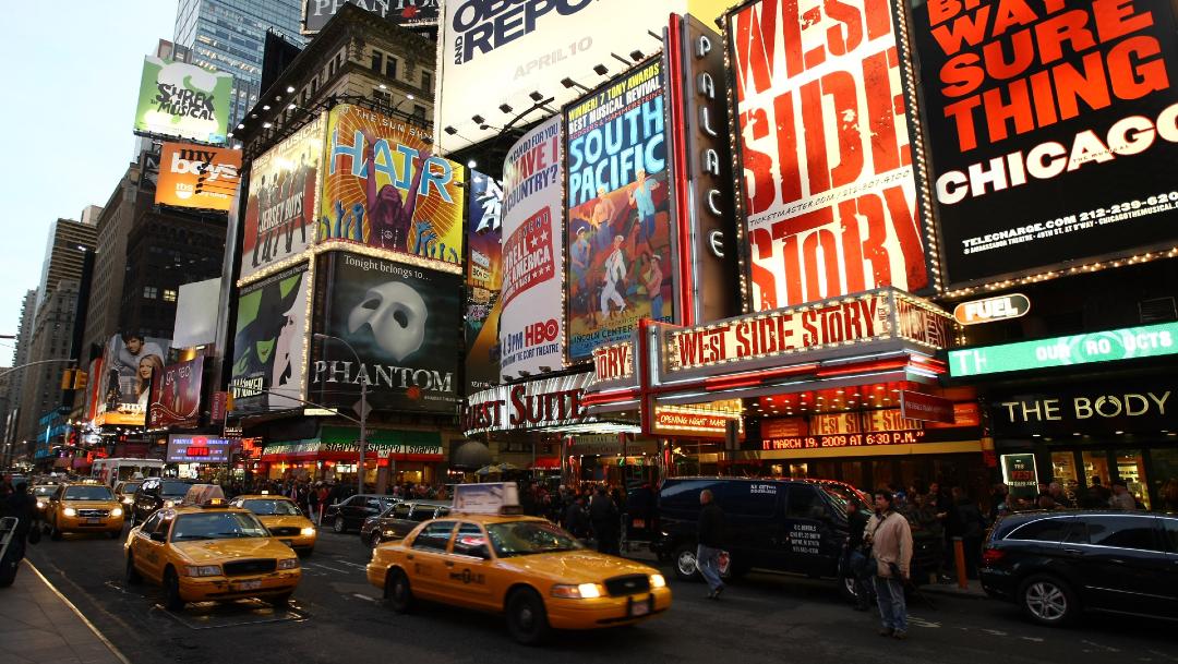 Teatros de Broadway seguirán cerrados hasta enero de 2021 por COVID-19
