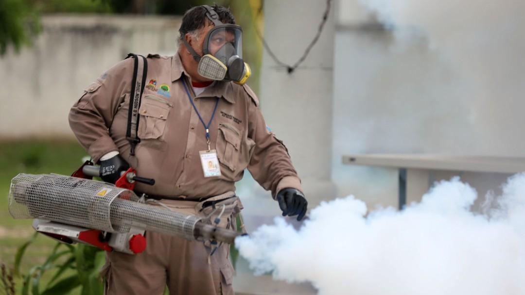 Campaña contra el dengue en Cancún, México. Cuartoscuro