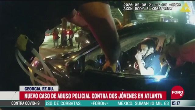 FOTO: captan nuevo y brutal abuso policial en eeuu