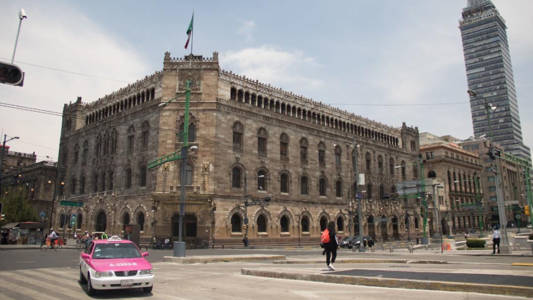 Palacio de correos centro historico ciudad de mexico.