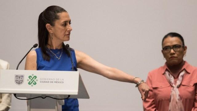 Sheinbaum pide a policías dejar atrás el abuso