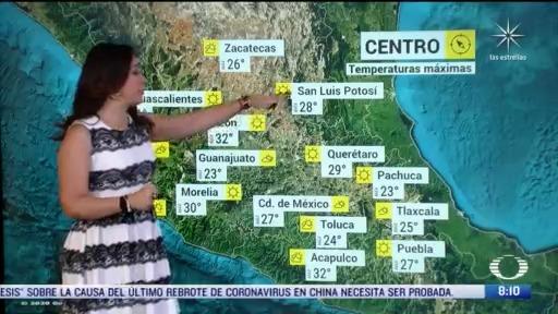 clima al aire termometro marcara 29 grados centigrados en la cdmx