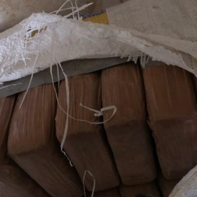 Detienen a un hombre con 647 kilos de cocaína en Huixtla, Chiapas
