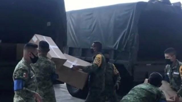 Ejército asegura más 100 kilos de cocaína en Durango