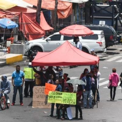Con protestas y tianguis inició la Nueva Normalidad en CDMX
