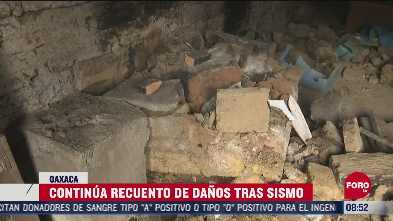FOTO: 27 de junio 2020, continua recuento de danos tras sismo de magnitud 7 4 en oaxaca