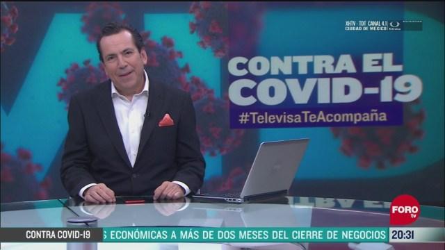 Contra El COVID Televisa Te Acompaña Recomendaciones Prevención Coronavirus Pandemia Cuarentena 2 Junio 2020