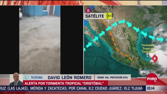FOTO: cristobal seguira provocando lluvias en varios estados del pais