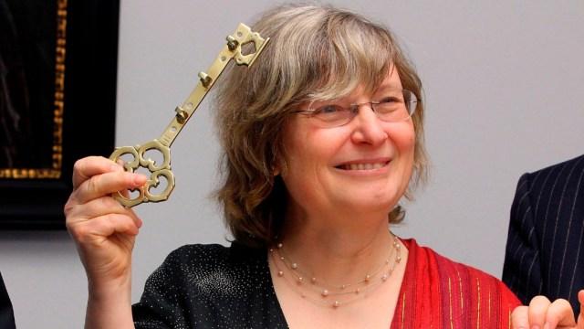 Cuatro matemáticos ganan el Premio Princesa de Asturias de Investigación. En la imagen, la belga Ingrid Daubechies. (EFE, archivo)