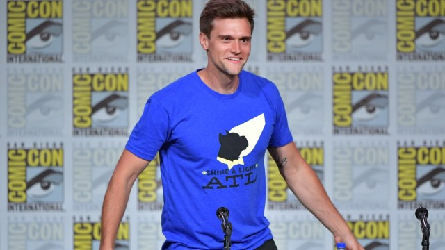 Hartley Sawyer, actor de la serie The Flash. Getty Images